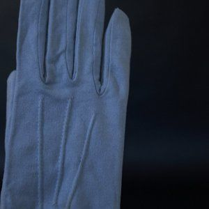 Vintage Rayon Lilac Gloves